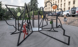 "Public-Art Object ""Archetypes of Subconscious"", Almaty, 2013"