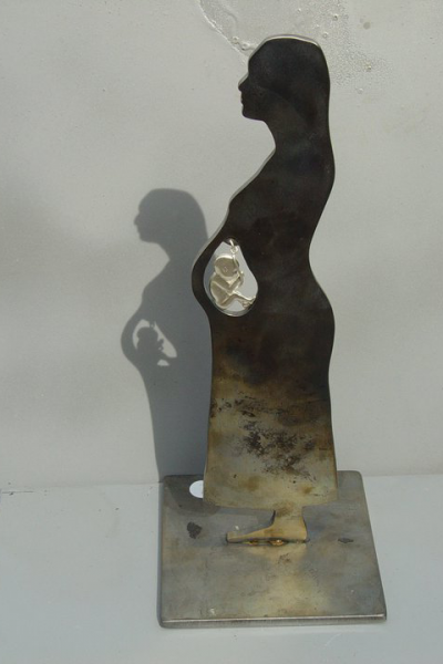 FAMILY WOMAN, Silver, 2005 Private collection, Milano, Italy